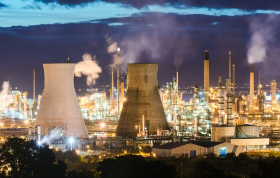 The Grangemouth Refinery, Scotland - image courtesy of APS