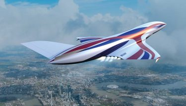 The Sabre engine is reportedly capable of Mach 5.4 in 'air-breathing' mode, and Mach 25 in rocket mode for space flight - image courtesy of Reaction Engines.
