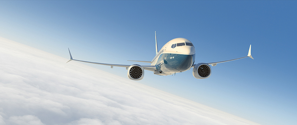 boeing 737 max - image courtesy of boeing