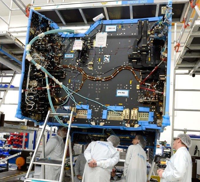 A reprogrammable satellite enables a complete transformation to be made - image courtesy of Airbus Defence Space.