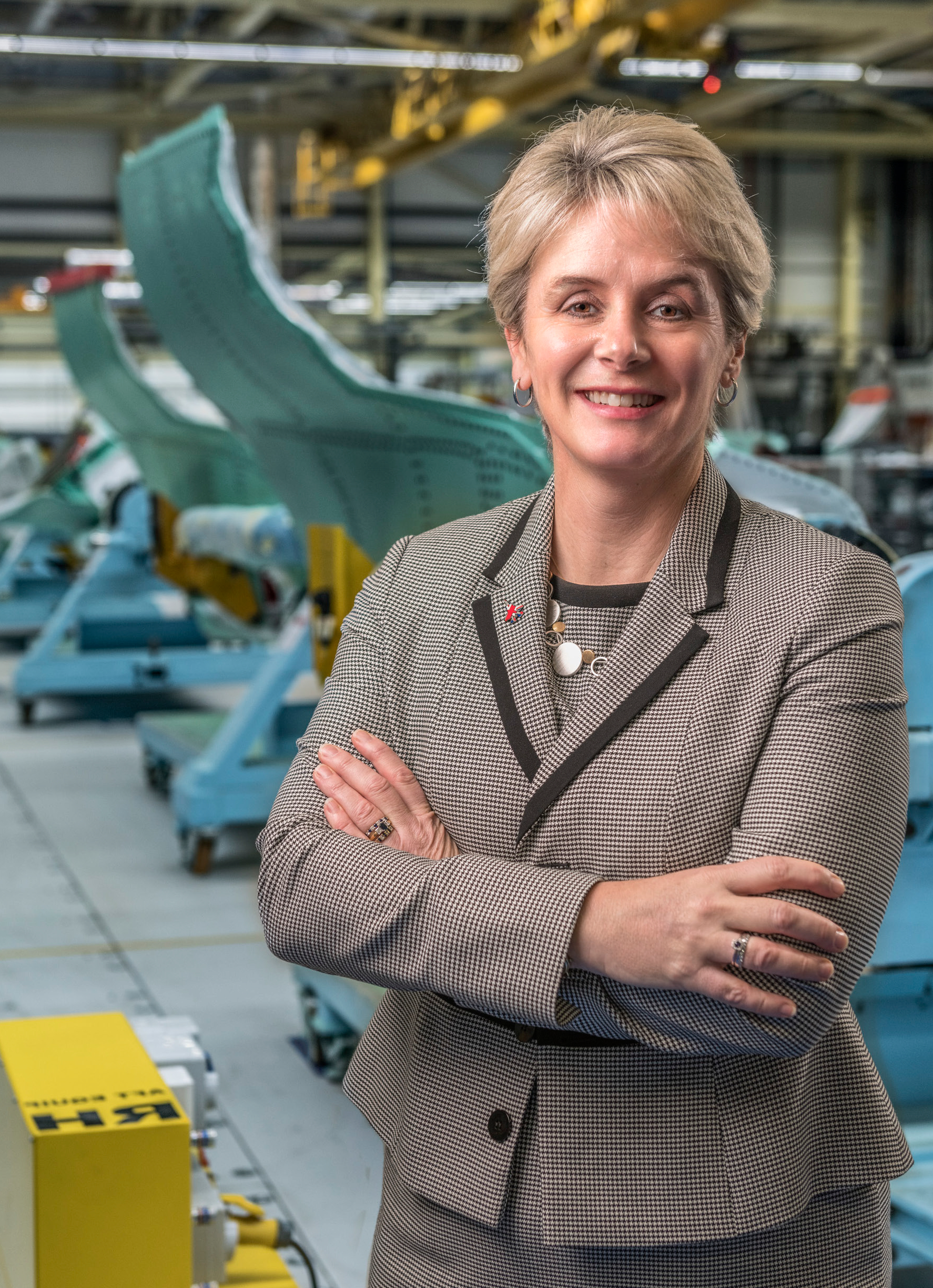 Andrea Thompson, managing director for Europe & International Programmes at BAE Systems, and recently appointed chair of the Made Smarter North West Pilot