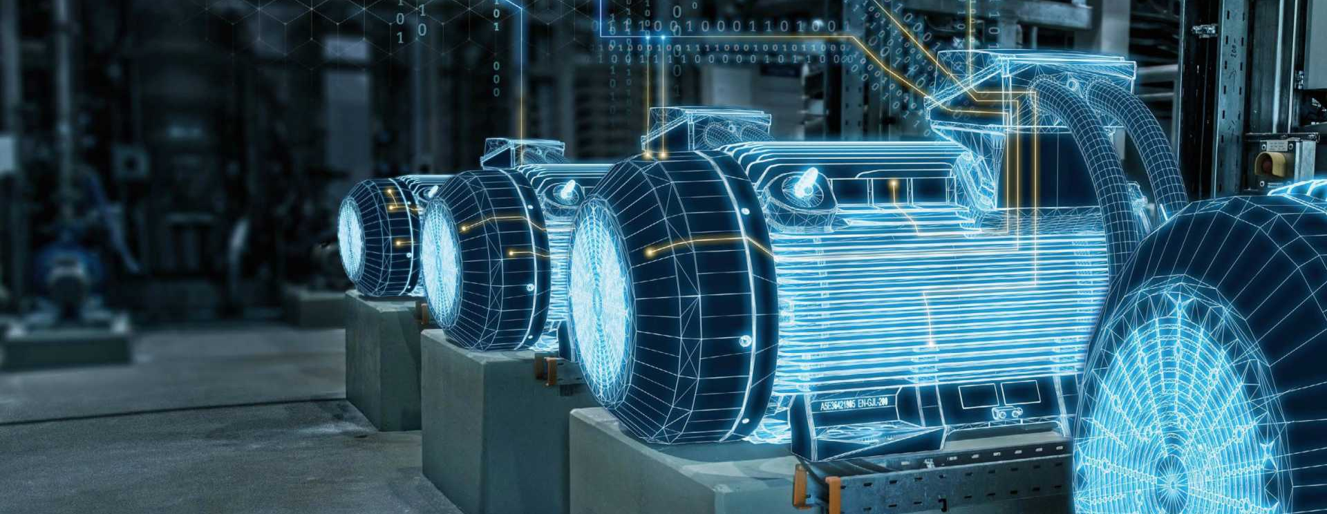 CROP - Digital Twin - Siemens' 'Mindsphere' IoT operating system can use digital twins to help optimise product development, production management and in-service performance – image courtesy of Siemens.