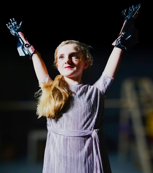 Open Bionics manufactures its low-cost, lightweight, adjustable bionic 'Hero Arm' using 3D printing – image courtesy of Open Bionics.