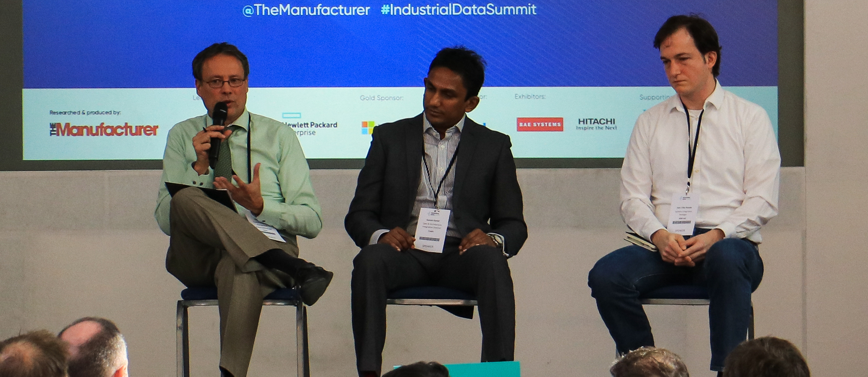 Panel Discussion Change Management - Executives gathered to discuss how best to take advantage of and leverage the power of digital technology at Industrial Data Summit 2019.
