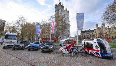 Britain is leading the autonomous vehicle market - image courtesy of SMMT.