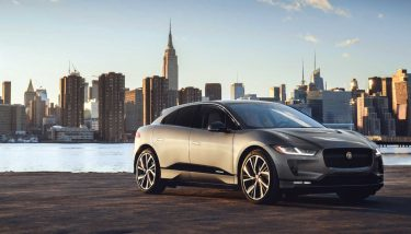 Jaguar I-PACE electric model is pictured - image courtesy of Jaguar Land Rover.