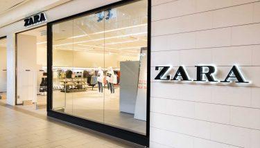 Zara embraces fast fashion - image courtesy of Depositphotos.