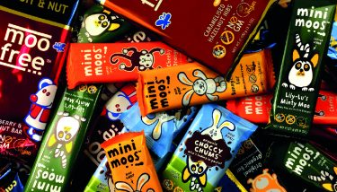 Moo Free produce free from chocolate in Exeter - image courtesy of Moo Free