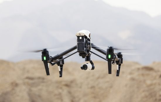 Drones are helping mining firms undertake digital elevation modeling - image courtesy of APS.