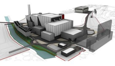 The proposed waste-to-energy plant site – image courtesy of Tata Chemicals Europe.