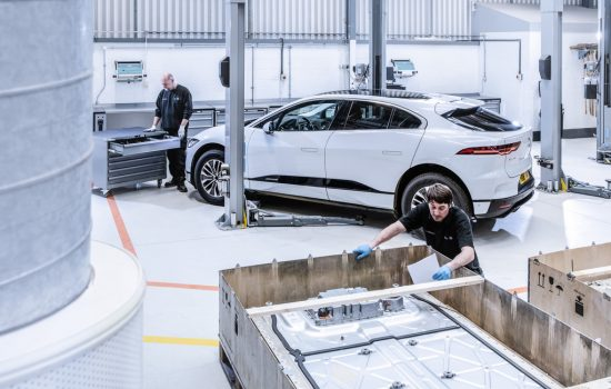 JLR aluminium initiative - image courtesy of JLR