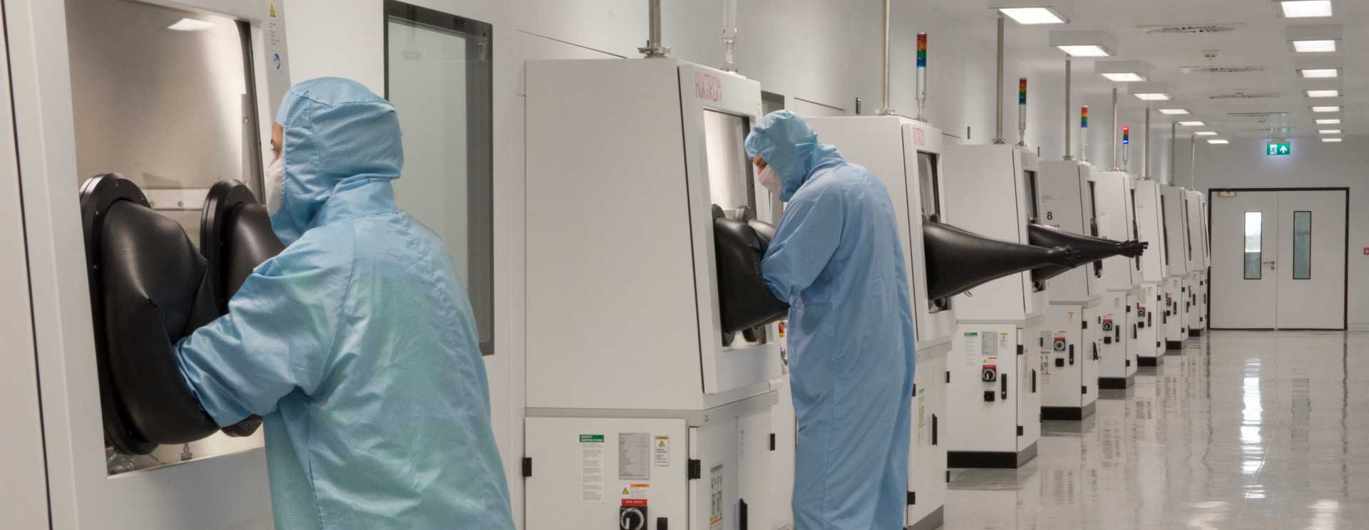 CROP - Based in Cardiff, and now opening a new plant in Newport (where the new Catapult will be co-located), IQE is the global leader in compound semiconductor technology.