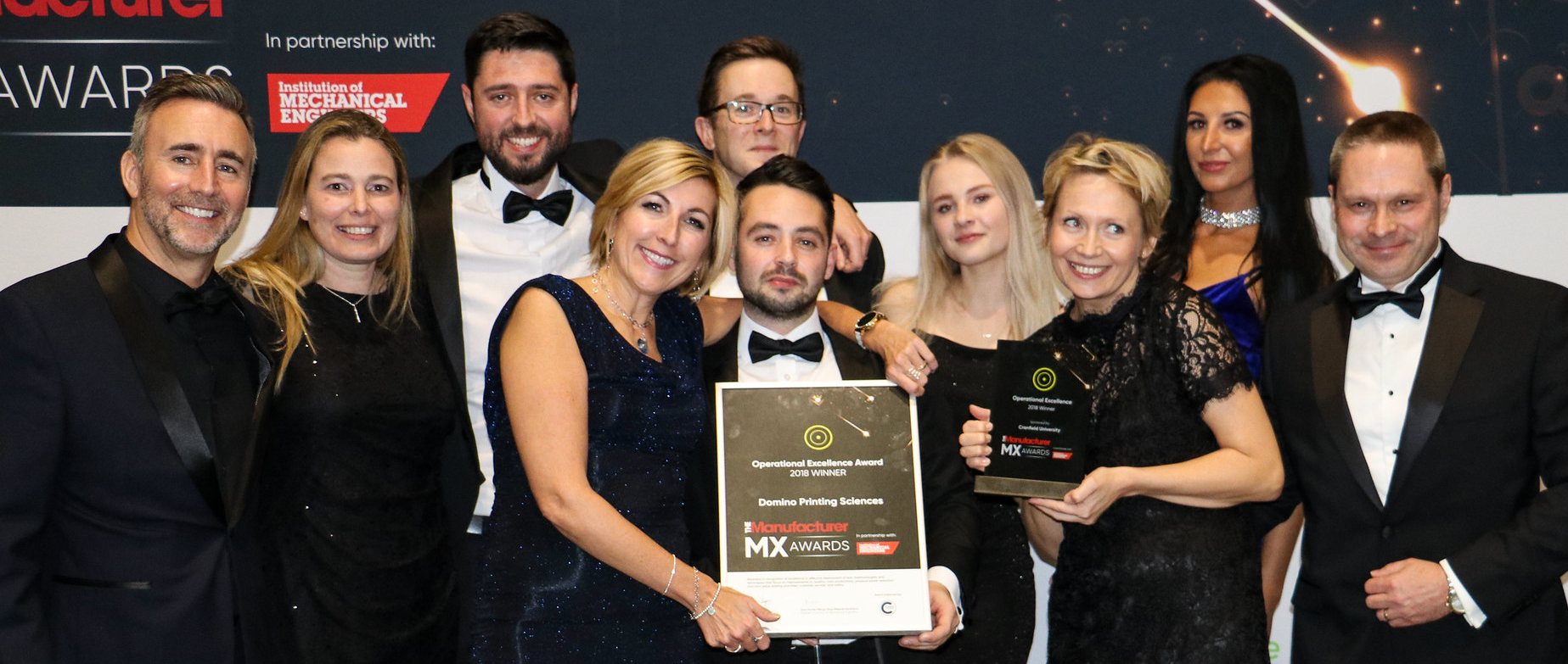 CROP - Domino Printing Services - winner of Operational Excellence at The Manufacturer MX Awards 2018 - image courtesy of The Manufacturer.