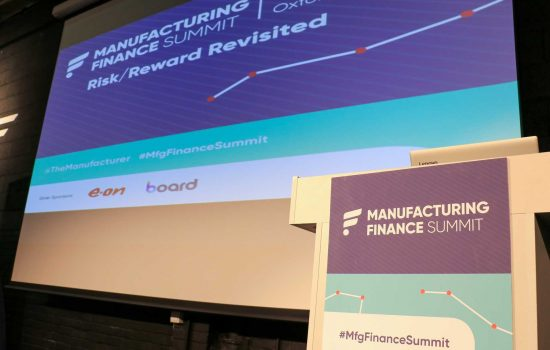 Manufacturing Finance Summit - image courtesy of The Manufacturer.