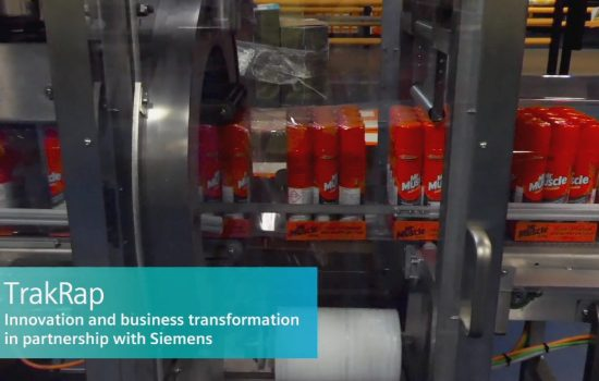 Siemens - DHL - TrakRap - Video Screengrab May 2019
