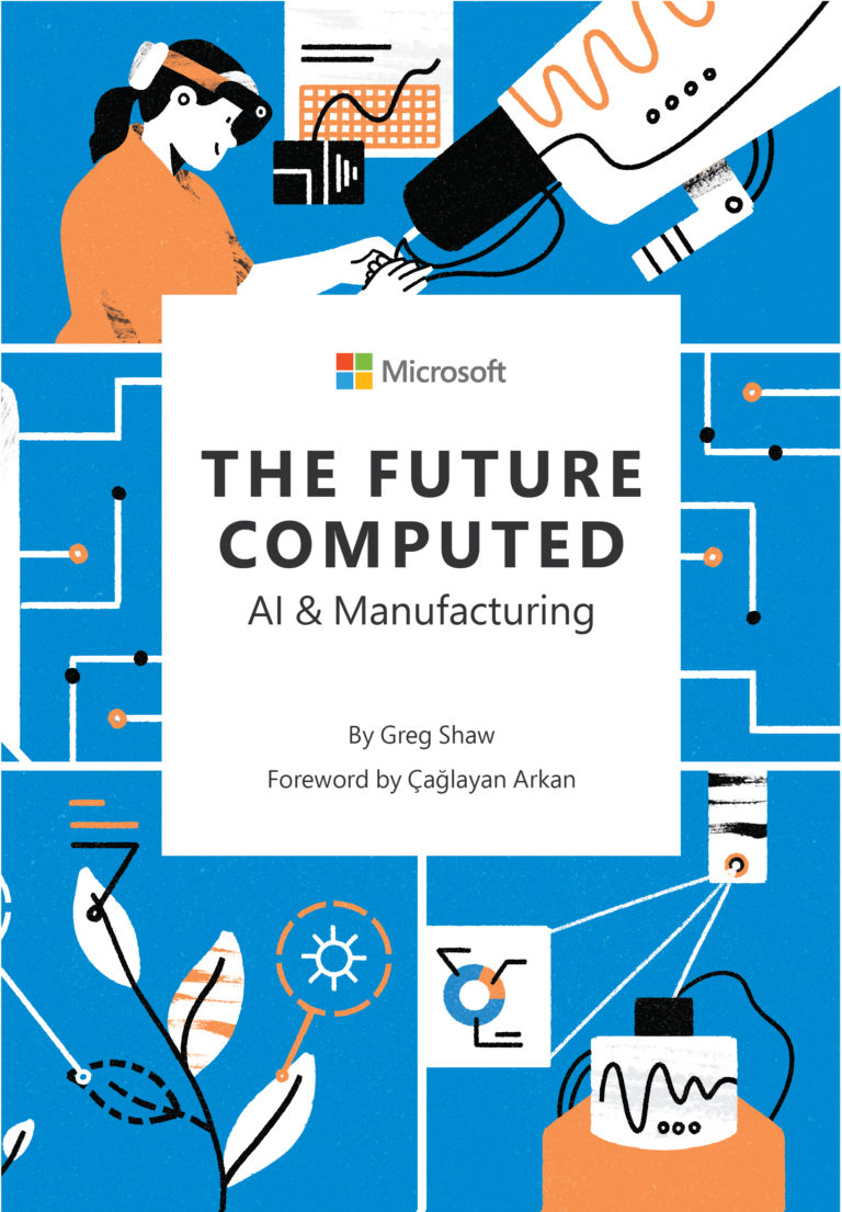 Greg Shaw, author of The Future Computed: AI and Manufacturing - Front Cover