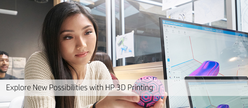 Explore new possibilities with HP 3D Printing