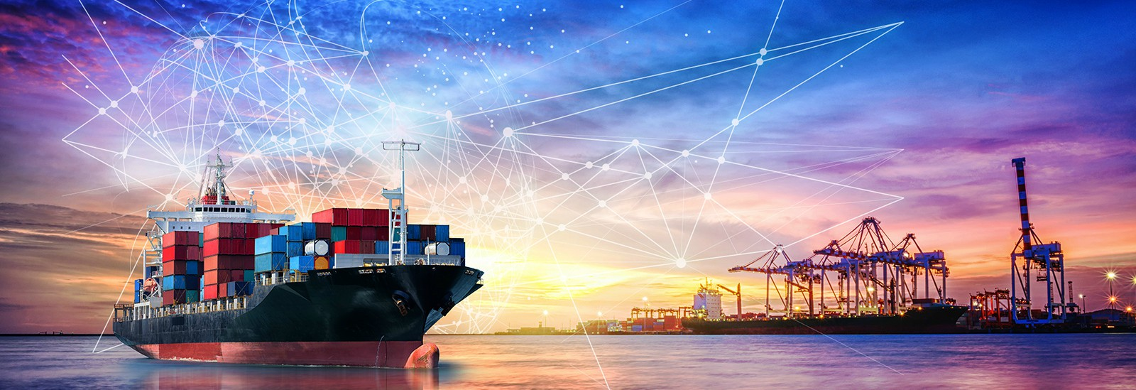 CROP Transforming Maritime Supply Chains - Stock Image