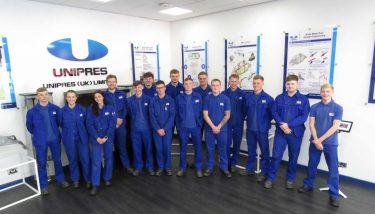 apprentices at unipress - unipress