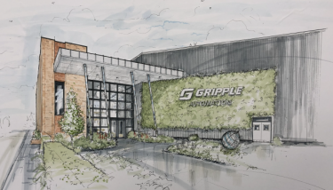 Gripple Automation will move to a new factory next year - image courtesy of Gripple.