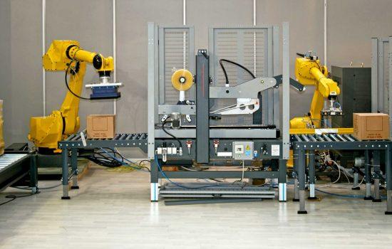 robot factory - digitalisation