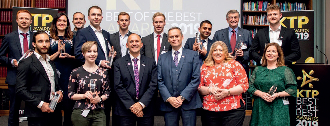 The winners of the KTP Best of the Best awards were judged on business growth, innovation, transformative change and team and individual contributions.