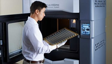 3D Printing - A Fortus 450mc FDM Printer manufactured and supplied by Stratasys.