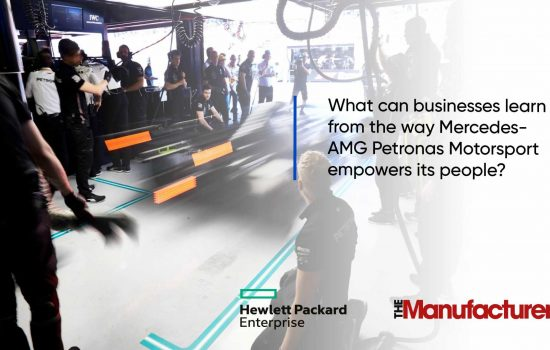 HPE - Video 2 - What can businesses learn from the way Mercedes-AMG Petronas Motorsport empowers its people?