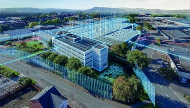 The Siemens factory at Congleton - image courtesy of Siemens.