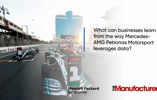 HPE - Video 1 - What can businesses learn from the way Mercedes-AMG Petronas Motorsport leverages data?