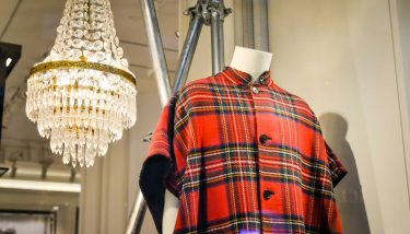 Burberry is known for its plaid pattern - image courtesy of Depositphotos.