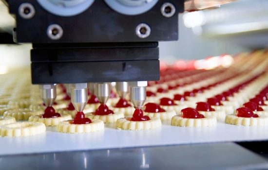 cake manufacturing automation FMCG food - depositphotos.