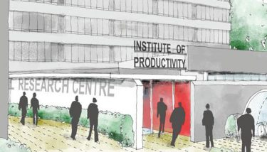 The Institute of Productivity will be based at UEA - image courtesy of UEA.