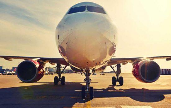 CROP Aerospace Aviation Aircraft - STOCK image courtesy of Depositphotos.