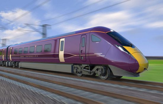 Artist's impression of the new train for East Midland Railway - image courtesy of Hitachi Rail.