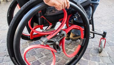 Loopwheels - Traditional spokes have been replaced with a new design that integrates suspension into the wheel and makes for a smoother passage over uneven surfaces.