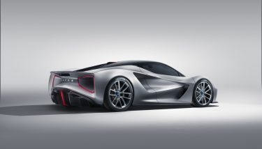 The first all-electric British hypercar from Lotus, the Lotus Evija - image courtesy of Lotus.