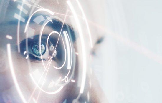 Digital Transformation Data Insight Decision-Making Technology AI Artificial Intelligence - Stock Image