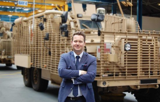 James Kempston CEO NP Aerospace - image courtesy of NP Aerospace