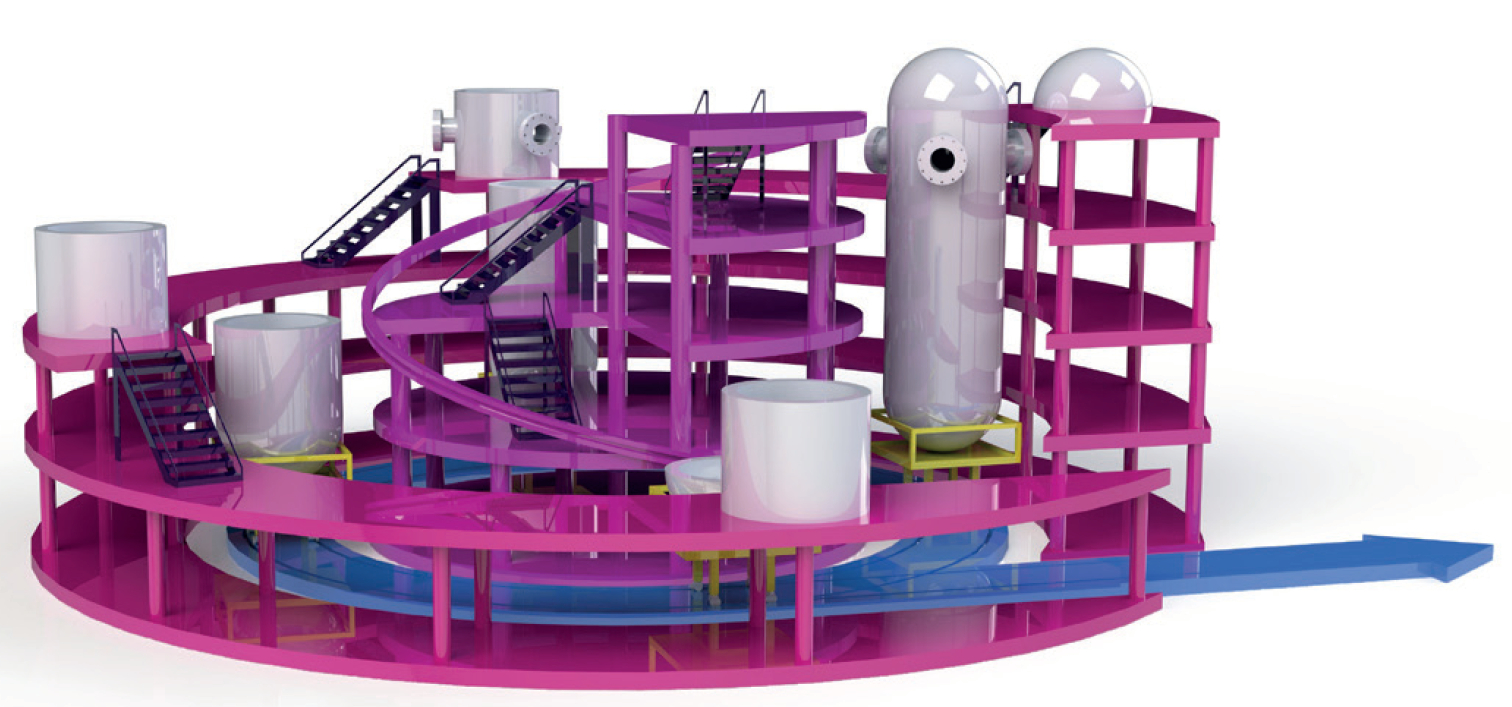 Modular Reactors - Inform future factory: the design concept for a new approach to assembling pressure vessels, part of the Inform project