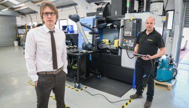 Jason Aldridge is pictured - image courtesy of Arrowsmith Engineering.