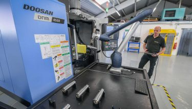 The family firm are using robotics to make components 24/7 - image courtesy of Arrowsmith Engineering.