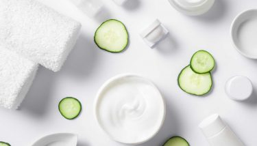The beauty industry is becoming greener - image courtesy of Depositphotos.