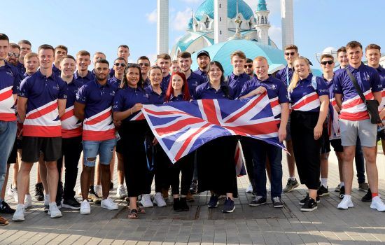 Team UK in Russia for the The 45th WorldSkills Finals - image courtesy of WorldSkills UK.