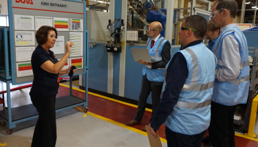The Manufacturer MX Awards finalists go through to the second round of the competition, in which judging teams travel the length and breadth of the UK to visit the factories.