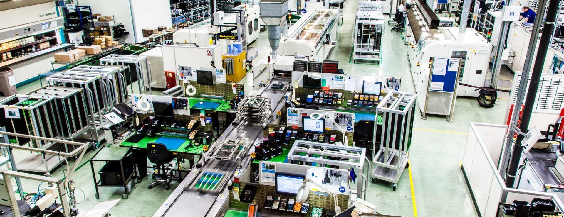 Factory Floor Congleton - image courtesy of Siemens.