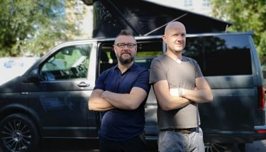 Andy Gosling and Ian Radcliffe of LowLife Products - image courtesy of Made Smarter.