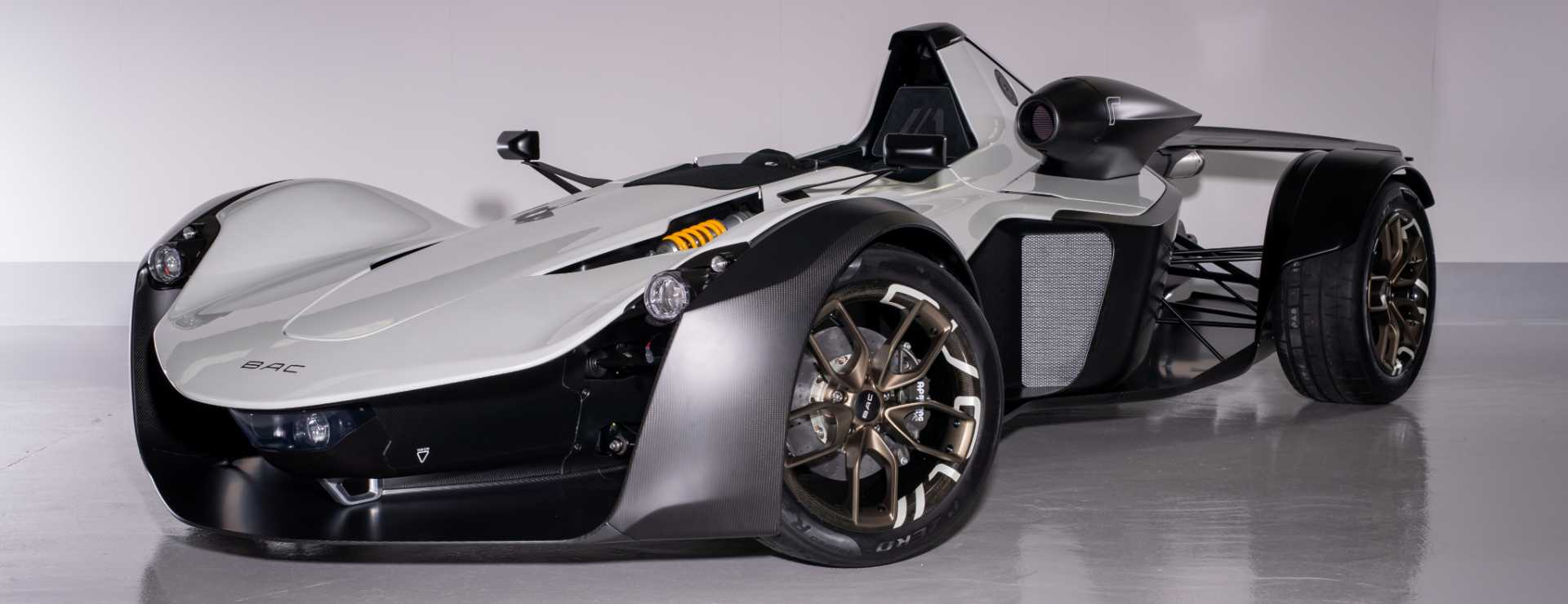 BAC Mono R Supercar - image courtesy of Stratasys / Briggs Automotive Company