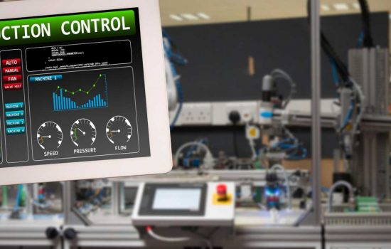 digital engineering, Digitalisation, Automation and AI tablet digital manufacturing - image courtesy of Depositphotos.