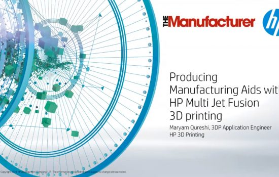 HP Webinar - Innovation at Speed: The Power of 3D Printing - Screen Grab